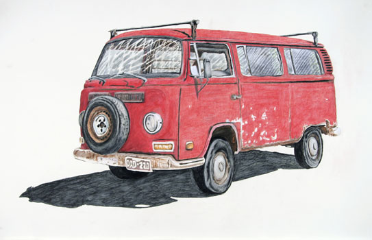Volkswagen (Red)